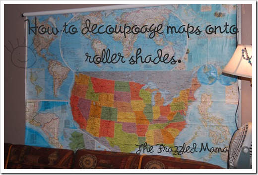 Tutorial for Roller Shade Maps - The Frazzled Mama