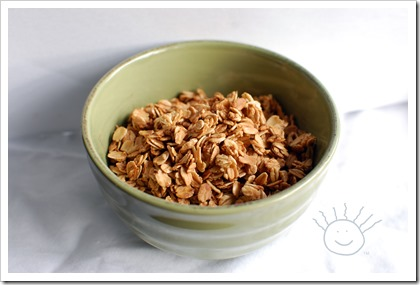 Plain & Simple Granola - The Frazzled Mama