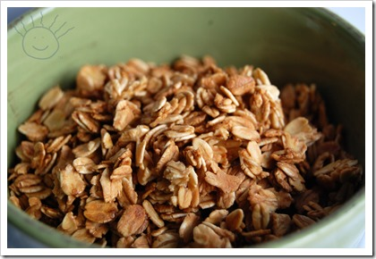 Plain and Simple Granola - The Frazzled Mama