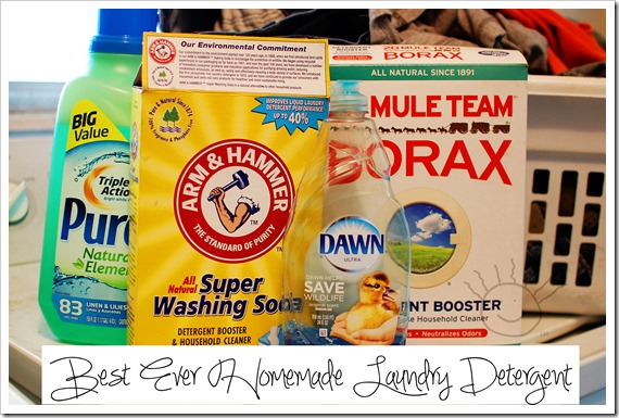 Best Homemade Laundry Detergent Ever - The Frazzled Mama